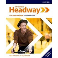 Учебник  Headway (5th Edition) Pre-Intermediate Student's Book