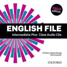 Диски English File 3rd Edition Intermediate Plus Class Audio CDs