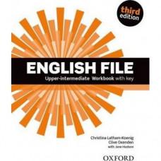 Рабочая тетрадь English File 3rd Edition Upper-Intermediate Workbook with Key