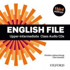 Диски English File 3rd Edition Upper-Intermediate Class Audio CDs