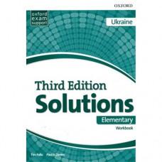 Рабочая тетрадь Solutions Third Edition Elementary Workbook