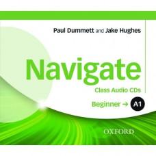 Диски Navigate A1 Beginner Class Audio CDs