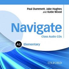 Диски Navigate Elementary A2 Class Audio CDs