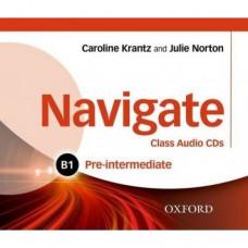 Диски Navigate Pre-Intermediate B1 Class Audio CDs