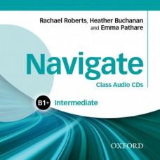 Диски Navigate Intermediate B1+ Class Audio CDs