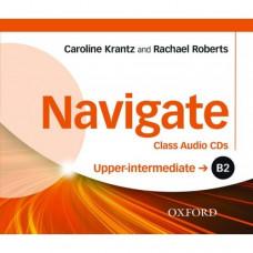 Диски Navigate Upper-Intermediate B2 Class Audio CDs