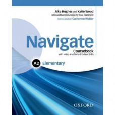 Учебник  Navigate Elementary A2 Coursebook with DVD and online skills