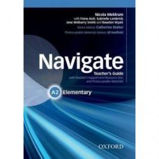 Книга для учителя Navigate Elementary A2 Teacher's Book