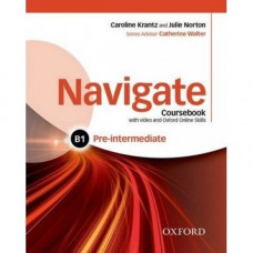 Учебник  Navigate Pre-Intermediate B1 Coursebook with DVD and online skills