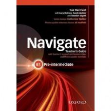 Книга для учителя Navigate Pre-Intermediate B1 Teacher's Book