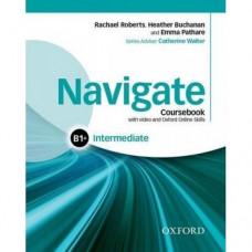Учебник  Navigate Intermediate B1+ Coursebook with DVD and online skills