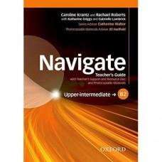 Книга для учителя Navigate Upper-Intermediate B2 Teacher's Book