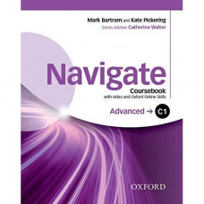 Учебник  Navigate Advanced C1 Coursebook with DVD and online skills