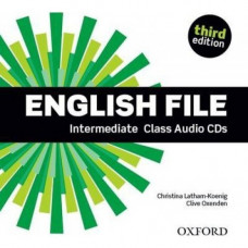 Диски English File 3rd Edition Intermediate Class Audio CDs
