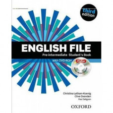 Учебник  English File 3rd Edition Pre-Intermediate Student's Book