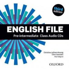 Диски English File 3rd Edition Pre-Intermediate Class Audio CDs