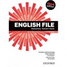 Книга для учителя English File 3rd Edition Elementary Teacher's Book