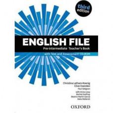 Книга для учителя English File 3rd Edition Pre-Intermediate Teacher's Book