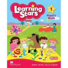 Учебник  Learning Stars 1 Pupil's Book + CD-ROM