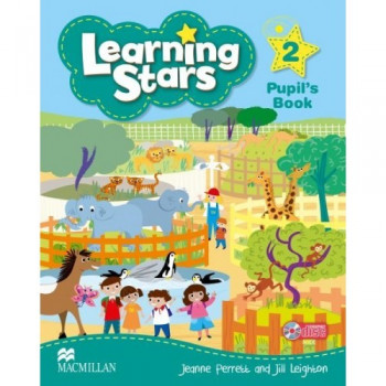 Учебник  Learning Stars 2 Pupil's Book + CD-ROM