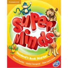 Учебник Super Minds Starter Student's Book with DVD-ROM
