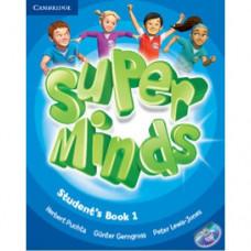 Учебник Super Minds 1 Student's Book with DVD-ROM
