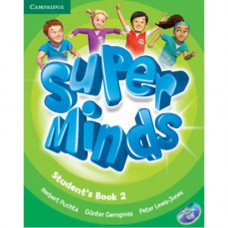 Учебник Super Minds 2 Student's Book with DVD-ROM