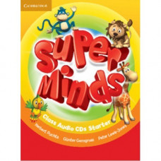 Диски Super Minds Starter Class Audio CDs (2)