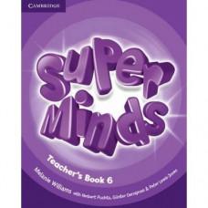 Книга для учителя Super Minds 6 Teacher's Book