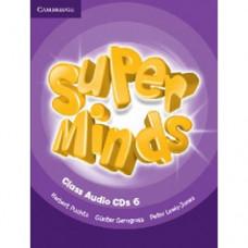 Диски Super Minds 6 Class Audio CDs (4)
