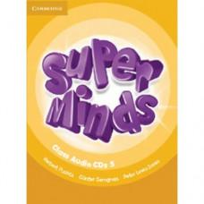 Диски Super Minds 5 Class Audio CDs (4)