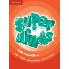 Диски Super Minds 4 Class Audio CDs (4)