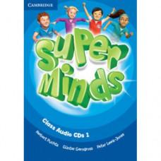 Диски Super Minds 1 Class Audio CDs (3)