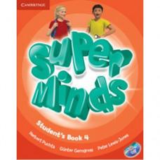Учебник Super Minds 4 Student's Book with DVD-ROM
