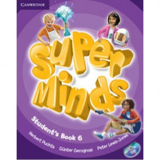 Учебник Super Minds 6 Student's Book with DVD-ROM