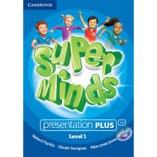 Диск Super Minds 1 Presentation Plus DVD-ROM