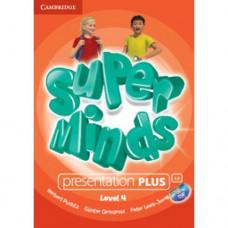 Диск Super Minds 4 Presentation Plus DVD-ROM
