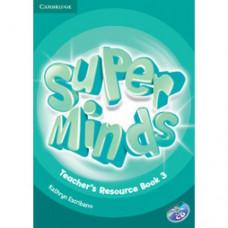 Книга для учителя Super Minds 3 Teacher's Resource Book with Audio CD