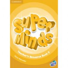 Книга для учителя Super Minds 5 Teacher's Resource Book with Audio CD