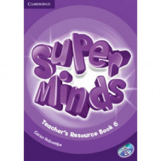 Книга для учителя Super Minds 6 Teacher's Resource Book with Audio CD