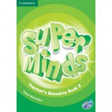 Книга для учителя Super Minds 2 Teacher's Resource Book with Audio CD