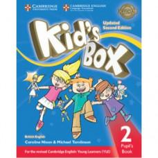 Учебник Kid's Box Updated Second edition 2 Pupil's Book