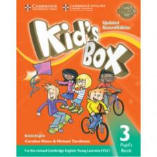 Учебник  Kid's Box Updated Second edition 3 Pupil's Book