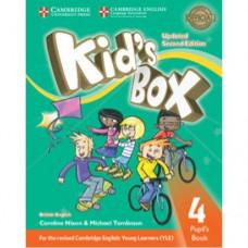 Учебник Kid's Box Updated Second edition 4 Pupil's Book