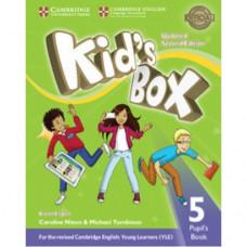 Учебник  Kid's Box Updated Second edition 5 Pupil's Book
