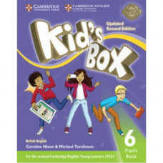 Учебник  Kid's Box Updated Second edition 6 Pupil's Book