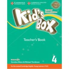 Книга для учителя Kid's Box Updated Second Edition 4 Teacher's Book