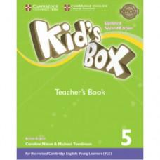 Книга для учителя Kid's Box Updated Second edition 5 Teacher's Book