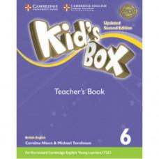Книга для учителя Kid's Box Updated Second edition 6 Teacher's Book