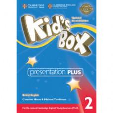 Диск Kid's Box Updated Second Edition 2 Presentation Plus DVD-ROM